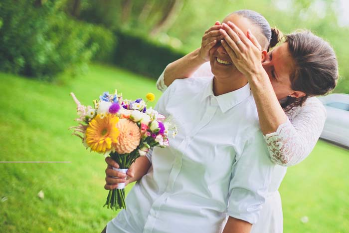 Mijn geheim; de surprise wedding van mijn schoonzusjes!