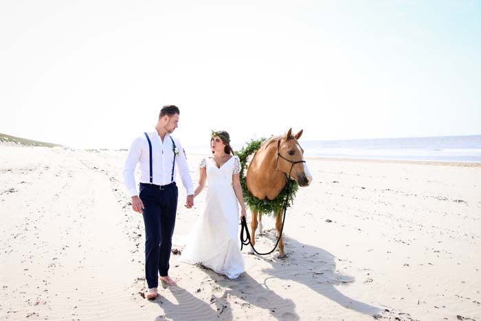 Boho Beach Wedding – Inspirational shoot