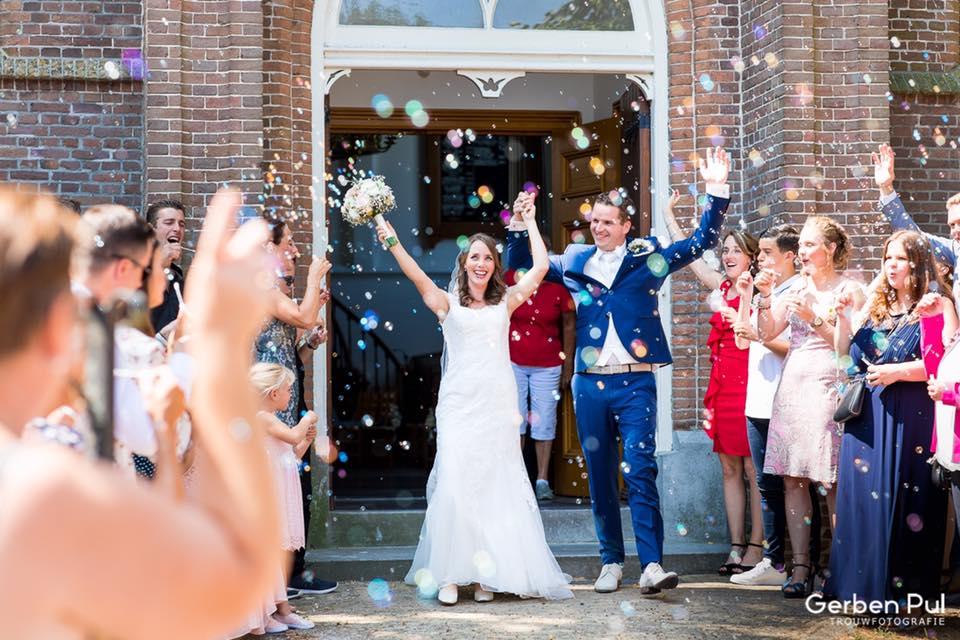 Bruiloft in de Kerk van Zuiderwoude // Ferry & Willeke