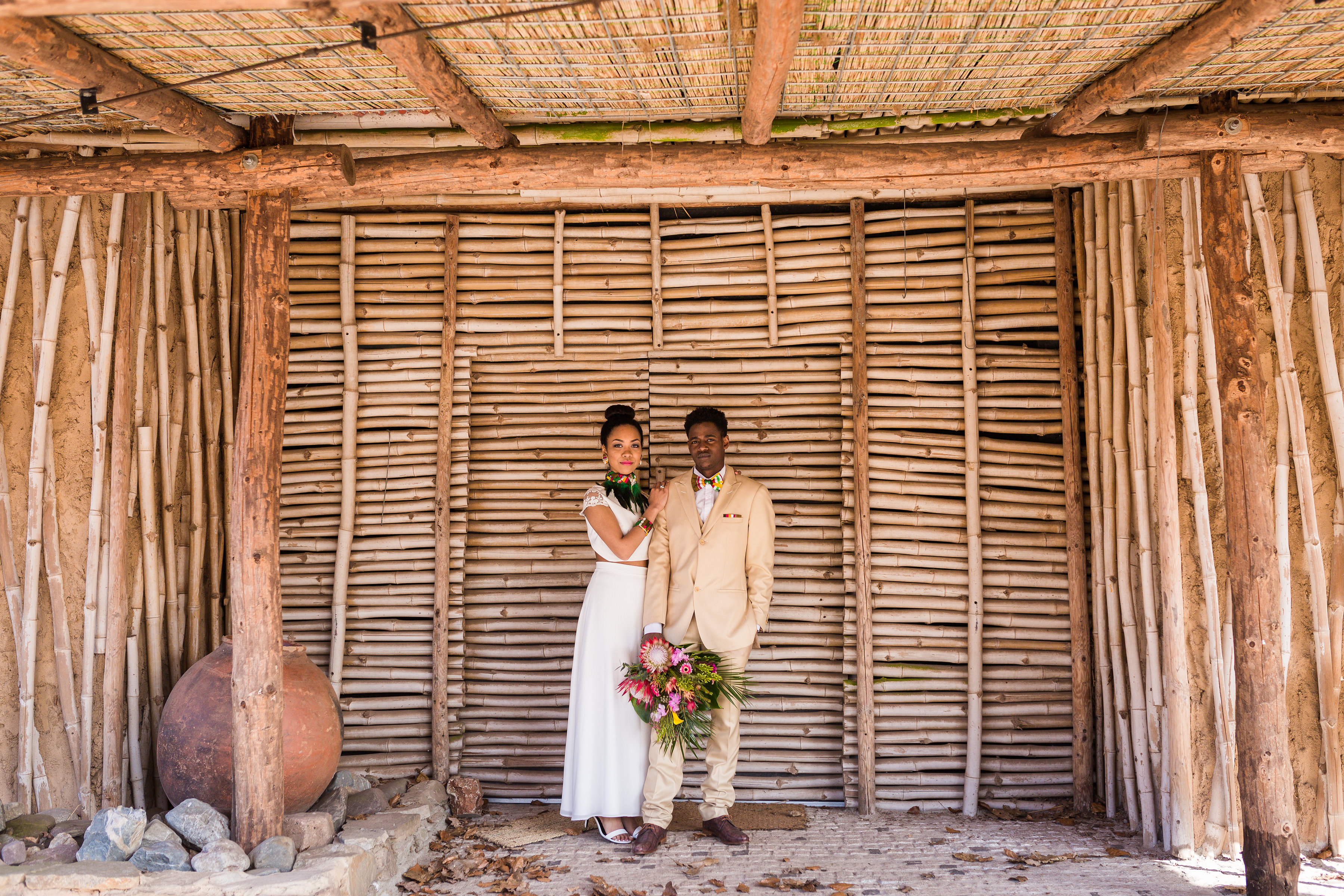 Afrikaanse bruiloft in het Afrika Museum // Styled Shoot
