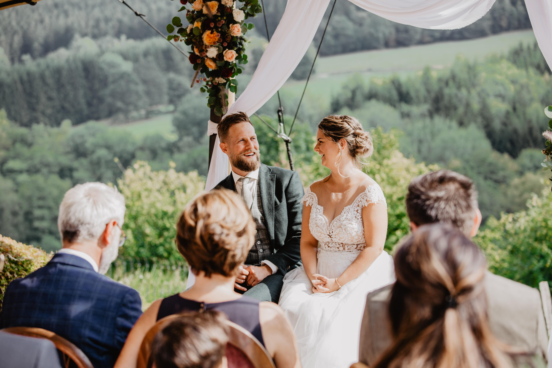 Bruiloft in de Belgische Ardennen // Sven & Lissy