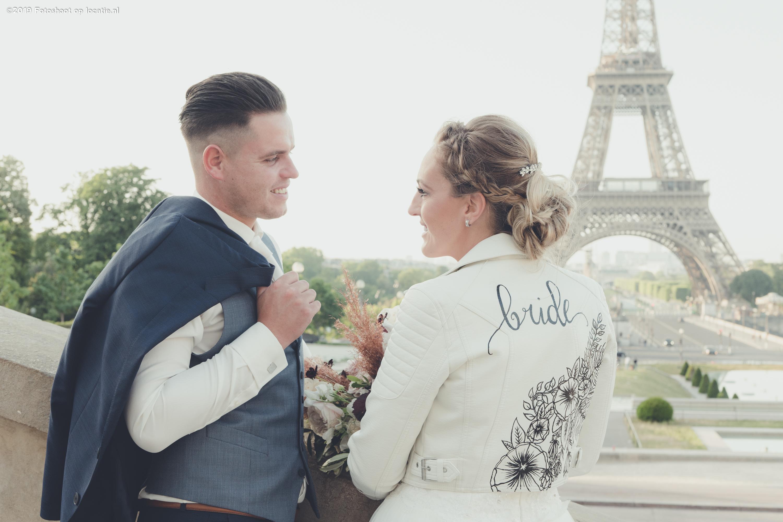Weddingshoot in Parijs