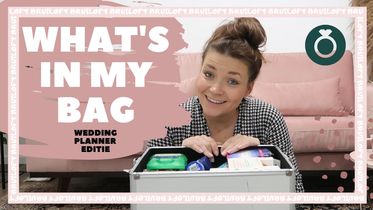 What's in my bag? De wedding planner editie