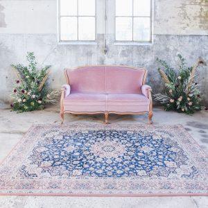 tapijt vloerkleed huren bruiloft