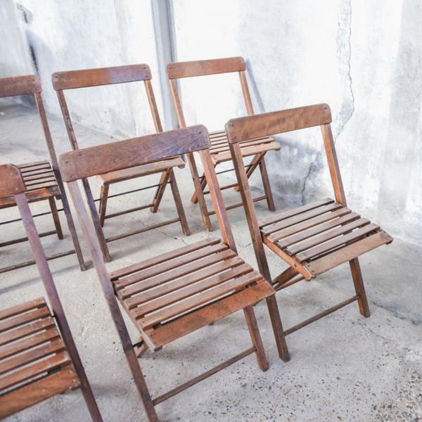 houten stoelen the bridal blush
