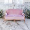 vintage roze bank huren the bridal blush