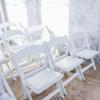 white wedding chair the bridal blush