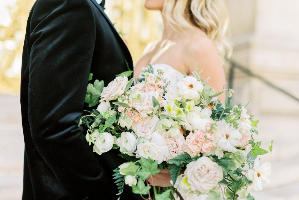 Fine Art Wedding Photographer the bridal blush elopement paris