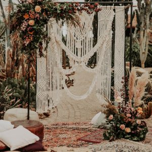 Backdrop Macramé