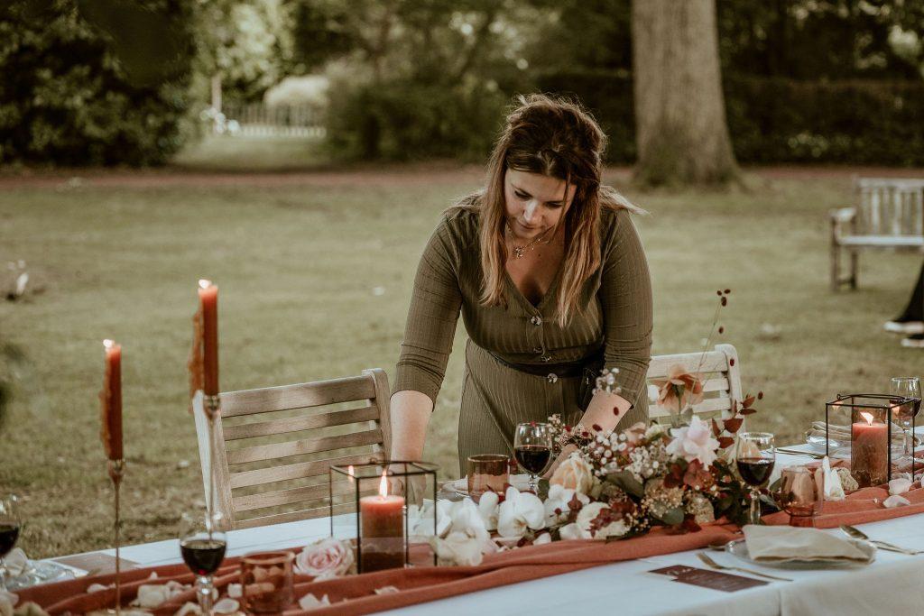 bruiloft styling inhuren bruiloft