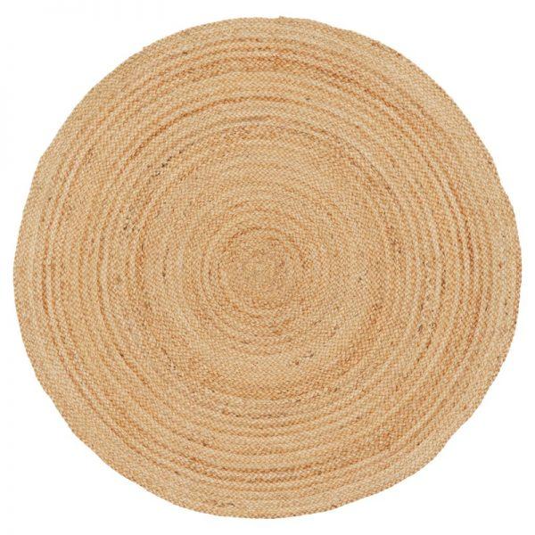 tapijt jute rond 2 meter huren
